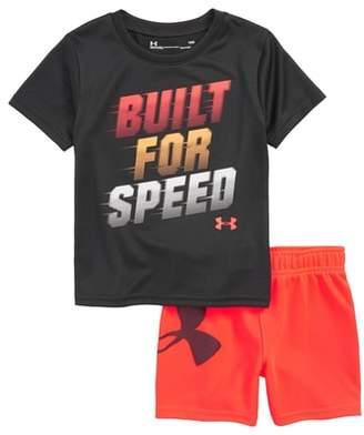 Under Armour Built for Speed HeatGear(R) Shirt & Shorts Set