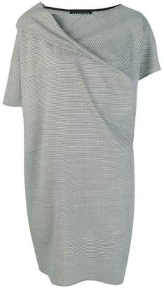Gianluca Capannolo vichy print cocoon dress