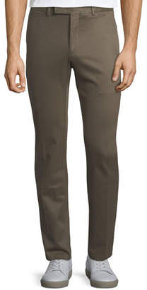 Ralph Lauren Men's Stretch-Twill Straight-Leg Trousers