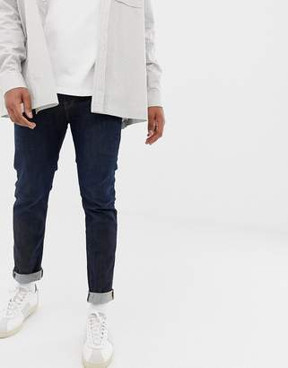 Selected slim stretch fit organic cotton jeans