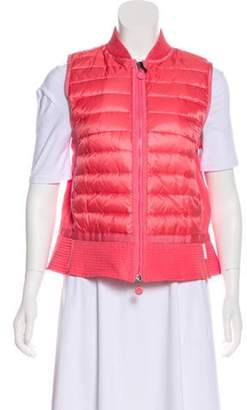 Moncler Down Puffer Vest w/ Tags Pink Down Puffer Vest w/ Tags