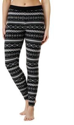 Cuddl Duds ClimateRight by Women's Stretch Fleece Warm Underwear Leggings
