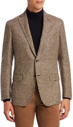 Saks Fifth Avenue Textured Slim-Fit Jacket