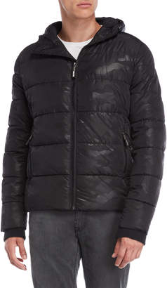 Superdry Sports Hooded Puffer Coat