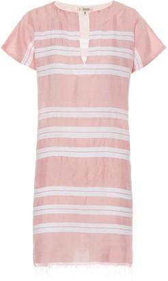 Lemlem Doro cotton-blend tunic dress