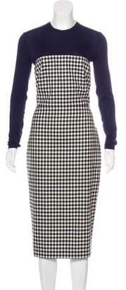 Max Mara Long Sleeve Midi Dress w/ Tags