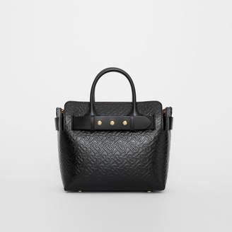 Burberry The Small Monogram Leather Triple Stud Belt Bag 3649f4157eccd