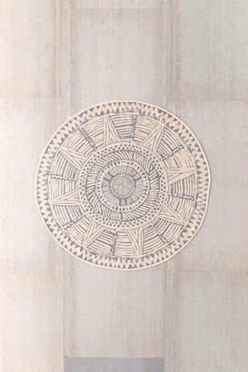Kinto Round Printed Rug