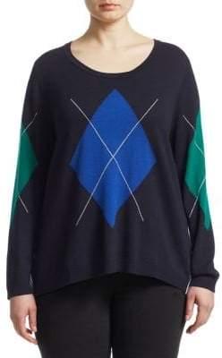 Marina Rinaldi Marina Rinaldi, Plus Size Sweater& Shirting Pullover