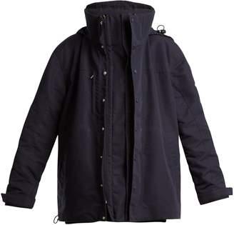 Vetements High-neck oversized jacket