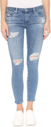 AG The Legging Ankle Jeans $235 thestylecure.com