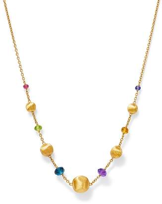 """Marco Bicego 18K Yellow Gold Africa Color Multi Gemstone Bead Necklace, 16"""" - 100% Exclusive"""