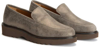 Aquatalia Kelsey Waterproof Suede Loafer
