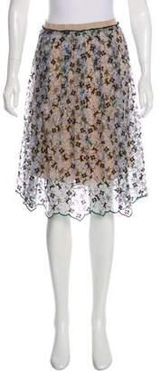 Aquilano Rimondi Aquilano.Rimondi Embroidered Knee-Length Skirt
