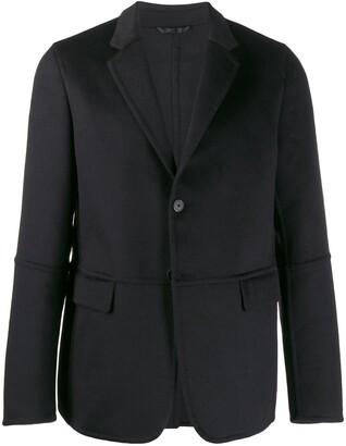 Prada stitched details blazer