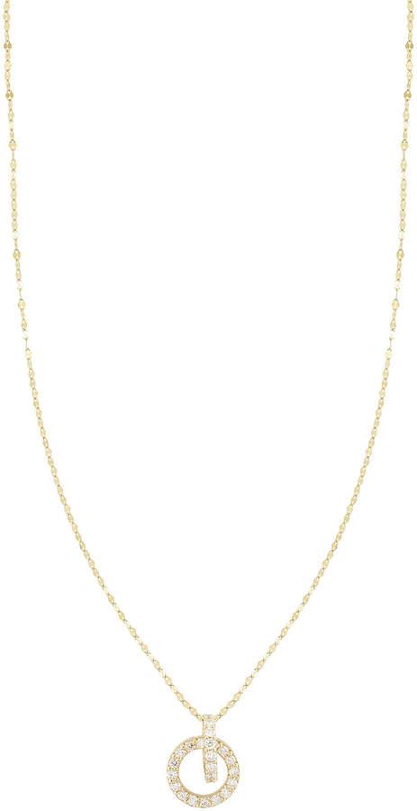 Lana Diamond Link Drop Necklace