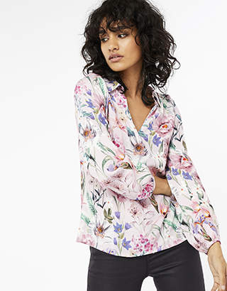 Monsoon Carly Floral Top