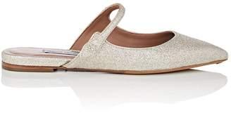 Tabitha Simmons Women's Kittie Glitter Mules