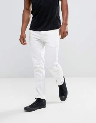 Burton Menswear Skinny Jeans In White
