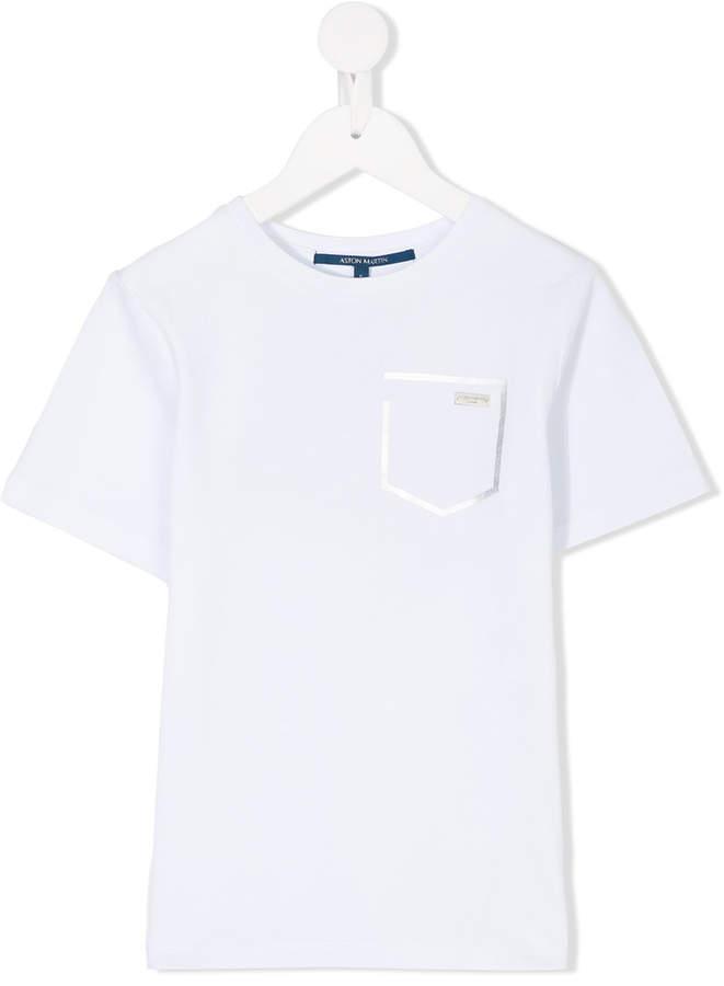 Aston Martin Kids pocket detail T-shirt