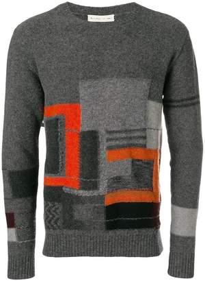 Etro printed jumper