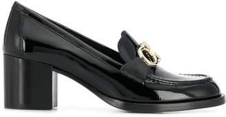 Salvatore Ferragamo Rolo block heel loafers
