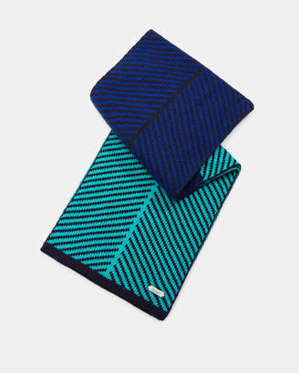 Ted Baker NIXER Striped scarf