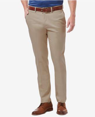 Haggar Men's Premium No Iron Khaki Slim-Fit Flat Front Pants