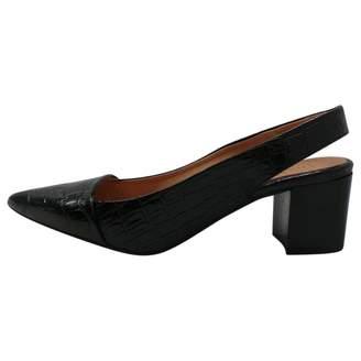 Topshop Black Patent leather Heels