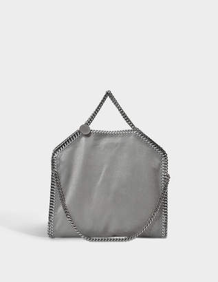 Stella McCartney Falabella Three Chains Tote Bag in Light Grey Eco Leather