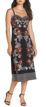 Foxiedox Retro Flower Embroidered Dress