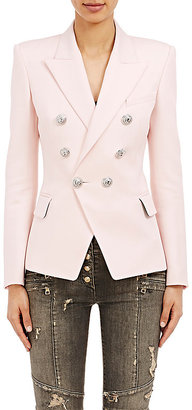 Balmain Women's Double-Breasted Blazer $2,380 thestylecure.com