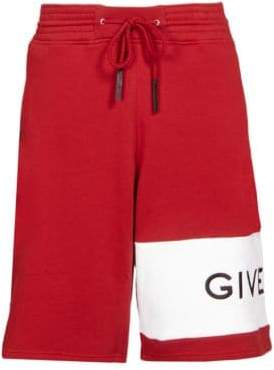 Givenchy Felpa Logo Band Shorts