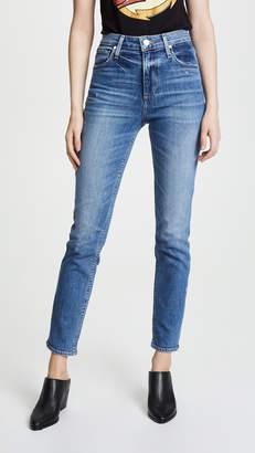 Paige High Rise Sarah Slim Jeans