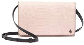 Rag & Bone Croc Embossed Leather Crossbody Wallet