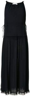 See by Chloe raw edge maxi dress