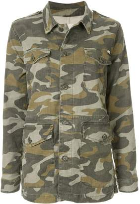 Mother The Loose Veteran camouflage jacket