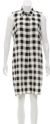 Jenni Kayne Plaid Knee-Length Dress