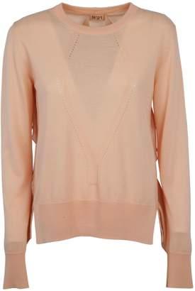 N°21 N.21 Ruffled Sweater