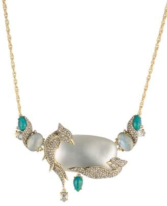 Alexis Bittar Love Bird Statement Necklace