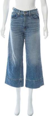 Brock Collection High-Rise Wide-Leg Jeans