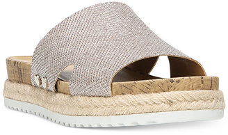 Franco Sarto Elina Espadrille Slip-On Sandals Women's Shoes $79 thestylecure.com