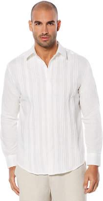 Cubavera Big & Tall Long Sleeve Multiple Tuck Shirt