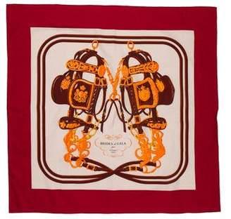 Hermes Brides de Gala Cotton Scarf