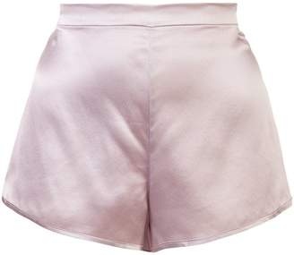Fleur Du Mal high-waisted shorts