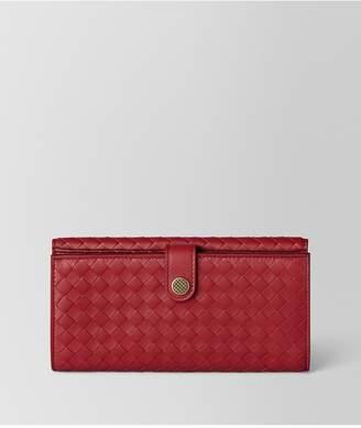 Bottega Veneta French Wallet In Intrecciato Nappa