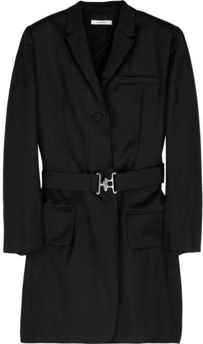 Carven Belted twill jacket
