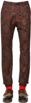 Etro Paisley Wool Jersey Jogging Style Pants