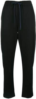 Semi-Couture Semicouture cropped tracker pants