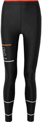P.E Nation The Glory Printed Stretch Leggings - Black